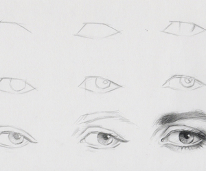 eye and draw image