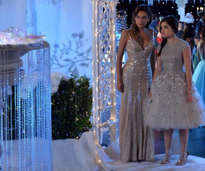 pretty little liars, aria montgomery, and emily fields image