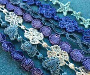 blue, bracelet, and fashion image