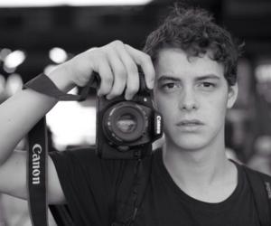 actor, boy, and camera image