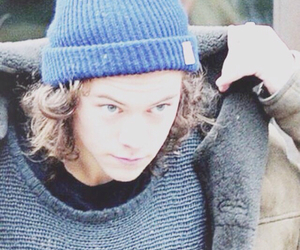 Harry Styles, one direction, and winter image