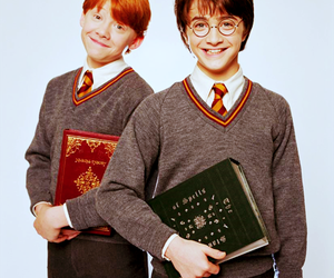harry potter, ron weasley, and daniel radcliffe image