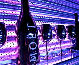 champagne and moet image