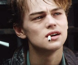 leonardo dicaprio, grunge, and smoke image