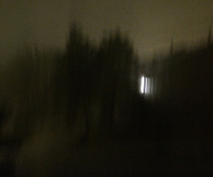 dark, fog, and snow image