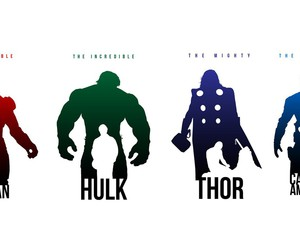 thor, Hulk, and captain america image