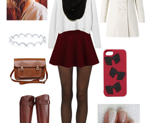 outfit, hair, and nails image