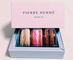 food, paris, and macarons image