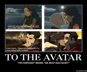 avatar, korra, and aang image