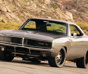 1969, car, and charger image