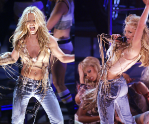 blonde, britney spears, and performing image