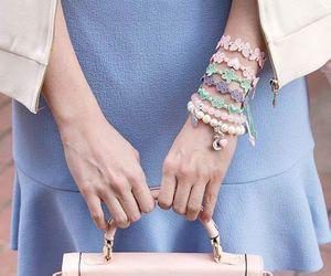 bracelet, fashion, and pastel image
