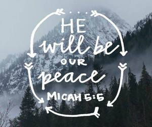 god, peace, and quotes image