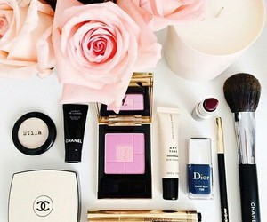 beauty, makeup, and chanel image
