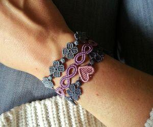 bracelet, fashion, and heart image
