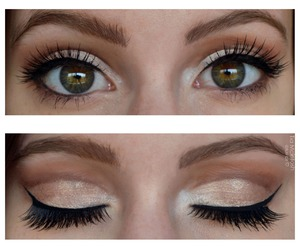 make up, eyeliner, and eyes image