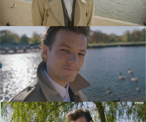 iphone, home screen, and louis tomlinson image