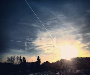 cold, sky, and niebo image