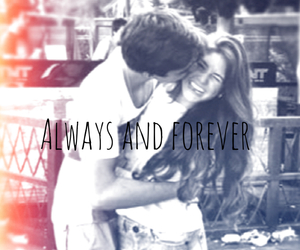 always, couple, and forever image