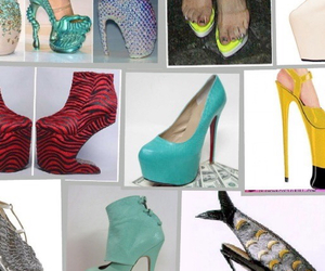 colors, lots, and shoe image