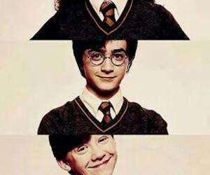 daniel, emma, and hermione image