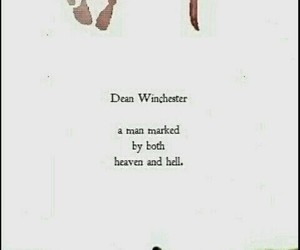 dean winchester, heaven, and hell image