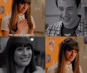 glee, sad, and cory image