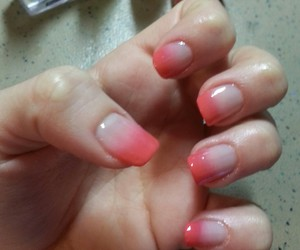 nail art, nails, and pink image