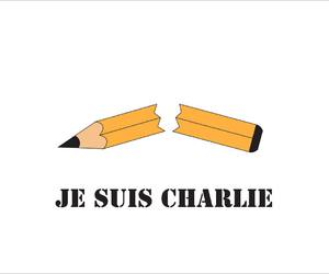art, illustration, and charlie hebdo image