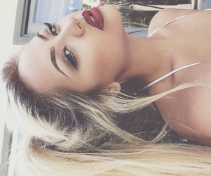 fancy, hair, and lips image