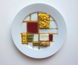 art, colors, and food image