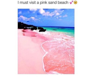 beach and pink image