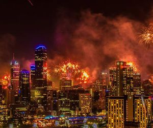 australia, melbourne, and new year image