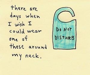 quotes, do not disturb, and disturb image