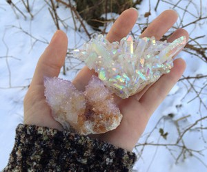 crystal, pastel, and aesthetic image