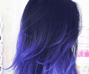 beautiful, tumblr, and blue hair image