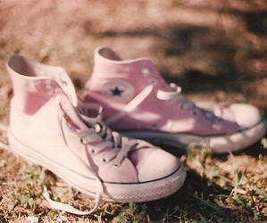 converse, shoes, and hipster image