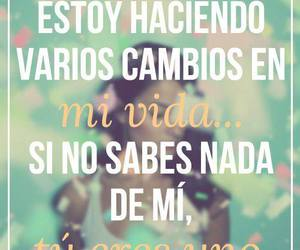 frases, cambios, and love image