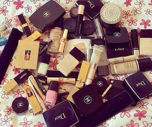 dior, chanel, and make up image
