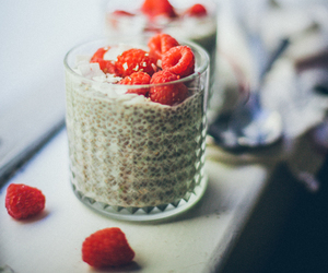 chia, coconut, and yummy image