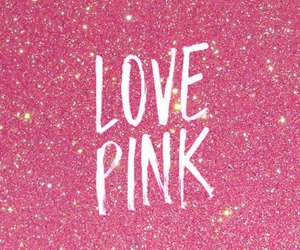 pink, love, and glitter image