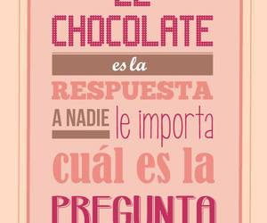 chocolate and frases image