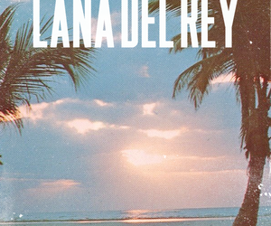 lana del rey, lana, and beach image