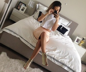 bed, classy, and girl image