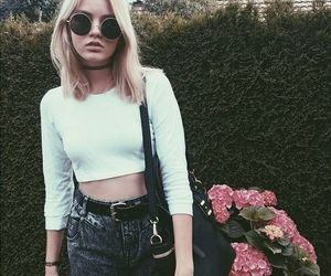 grunge, girl, and style image