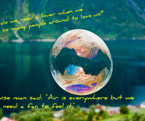 air, quotes, and baloon image