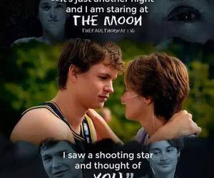 tfios, the fault in our stars, and all of the stars image