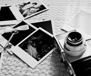 beautiful, black and white, and camera image