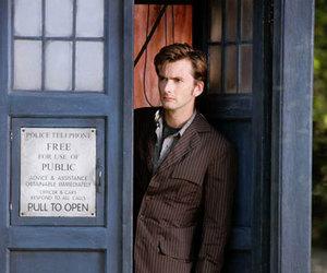 doctor who, matt, and tardis image