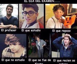 examen and one direction image